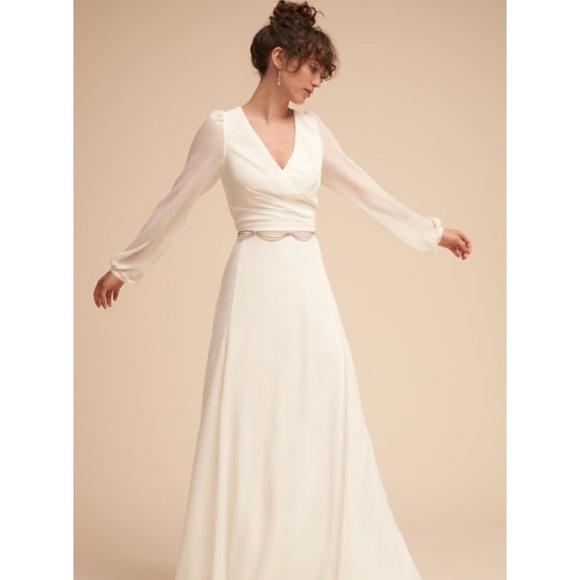 d7727af9e56f BHLDN Dresses | Anthropology Wedding Dress Nwt | Poshmark